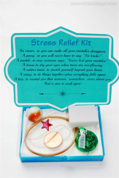 diy stress relief kit stress relief kit stress relief