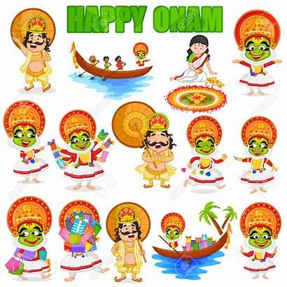 Festival Clipart India King Onam Mahabali South