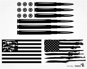 Gun Flag svg, Bullet Flag svg svg, png, eps, dxf, pdf