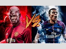 Paul pogba VS Kylian mbappe dribles e gols 2017 YouTube