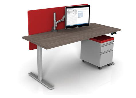 sit stand office desk standing height desk sit and stand desk bases sit