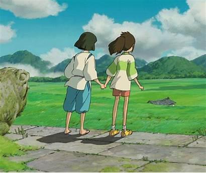 Ghibli Away Spirited Animation Studio Haku Chihiro