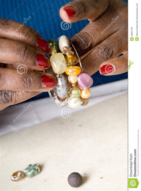 Jewelry Making As A Hobby #5 Royalty Free Stock