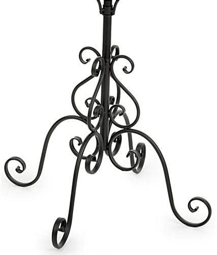 wrought iron coat hooks wrought iron hat rack 5 tiers rotating hooks 1662