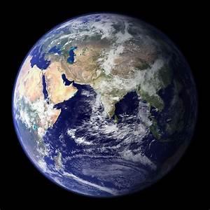 globo terraqueo desde el espacio | SaberAlgoNuevo.com