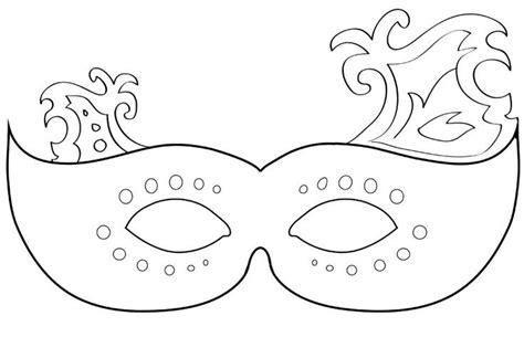 printable mardi gras  masquerade mask templates kreativ oetletek alarcok es kreativ