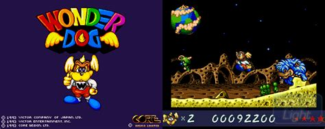 Wonder Dog  Hall Of Light  The Database Of Amiga Games