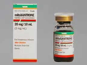 MITOXANTRONE 20 MG/10 ML VIAL Mitoxantrone