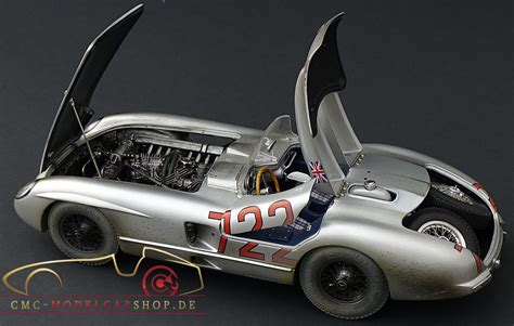 Model Car by Cmc Mercedes 300 Slr Heros Model Car Diecast