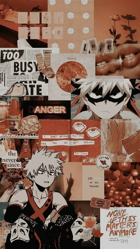 bakugo aesthetic wallpapers