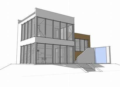 Plan Plans Modern Contemporary Concrete Block Loft