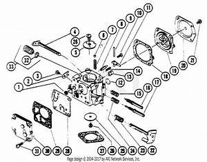 Poulan 4200 Gas Saw Parts Diagram For Carburetor Breakdown