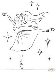 Ballet Ballerina Coloring Pages