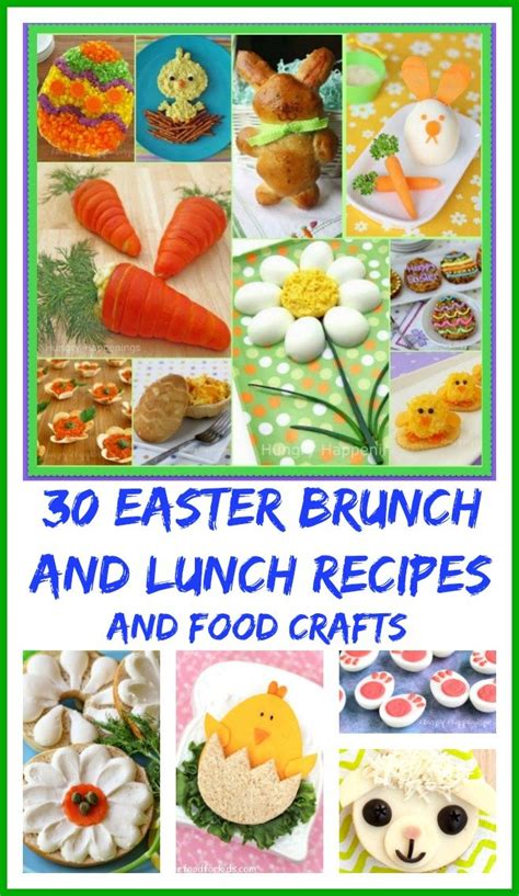 easter lunch ideas 30 easter brunch and lunch recipes and food crafts