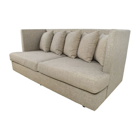 best crate and barrel sofa 34 off crate and barrel crate barrel shelter beige