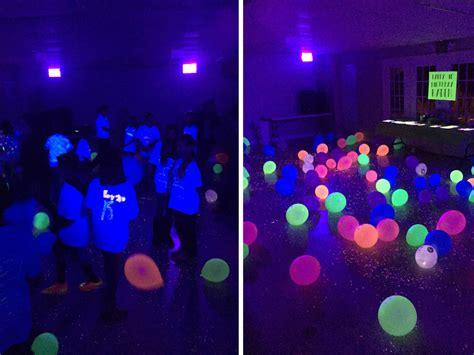 Glow in the Dark Birthday Party