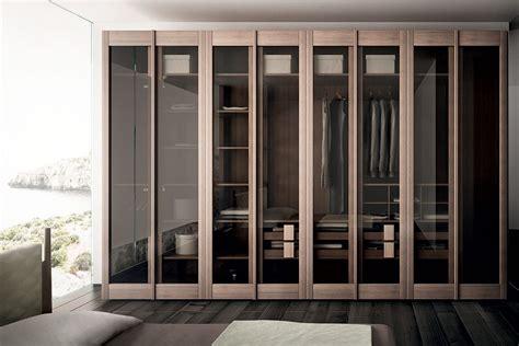Glass Wardrobe by Modern Wooden Glass Wardrobe Closet Doors On The Laminate