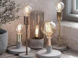 Lampe Ampoule Filament : lampe chevet ampoule lampe de chevet grise pas cher marchesurmesyeux ~ Teatrodelosmanantiales.com Idées de Décoration