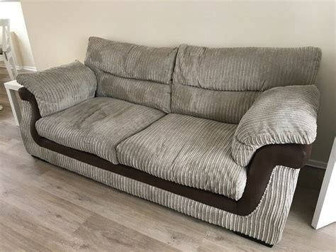 Scs Settees by Scs Zamba Sofa And Foot Stool In Broughton Astley