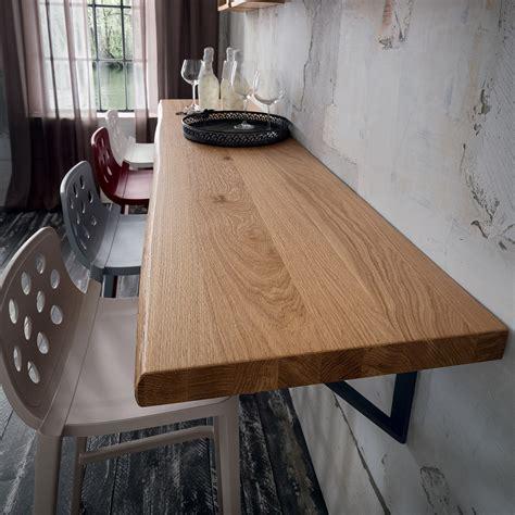 mensola legno mensola a parete in legno massello da 100 a 250 cm elias
