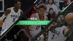NBA Mock Draft 2019, post-lottery edition: Pelicans ...