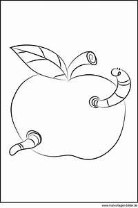 Ausmalbilder Apfel Kostenlos Malvorlagen Zum Ausdrucken