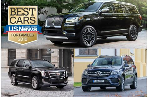 6 Best Luxury Large Suvs For Families In 2018