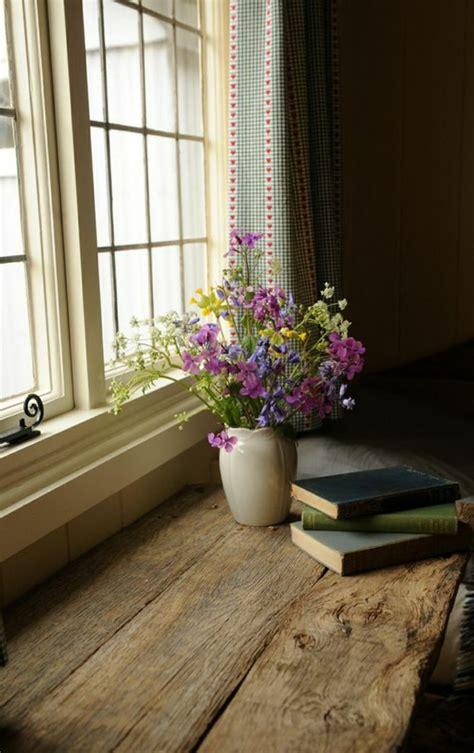 Die Fensterbank Mehr Als Eine Abstellflaeche Fuer Blumen by 1001 Tolle Ideen F 252 R Fensterbank Aus Holz In Ihrem Zuhause