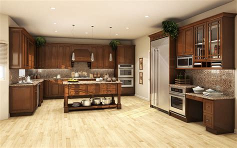 allwood kitchen cabinets all solid wood kitchen cabinets 10x10 fully assembled 1199
