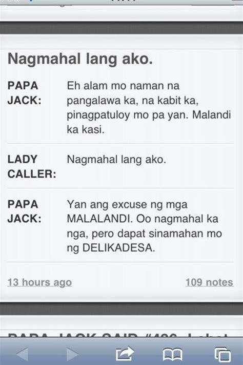 papa jack quotes nagmamahal lang ako