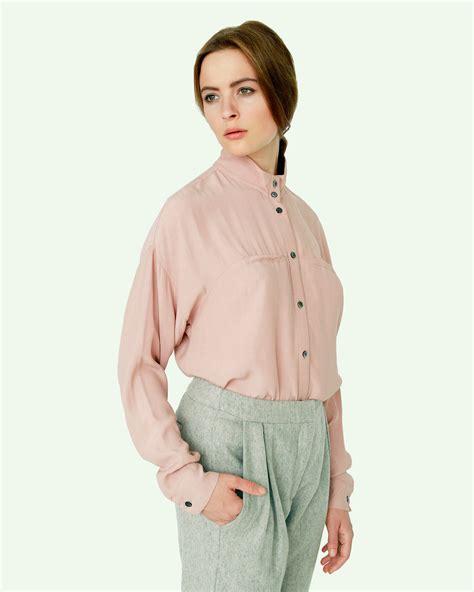 mandarin collar blouse suzanne mandarin collar blouse garmentory