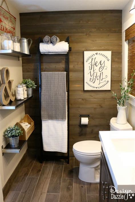 Farmhouse Bathroom IKEA Style Design Dazzle