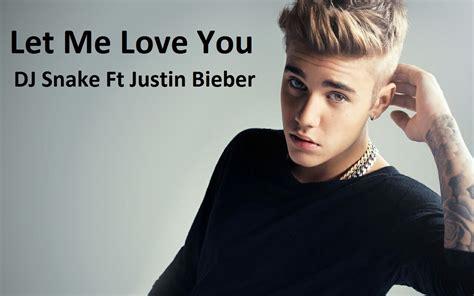Vídeo Musical Let Me Love You Ft De Justin Bieber, Dj