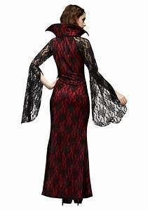 Rubies Costume Size Chart Womens Elegant Vampiress Costume