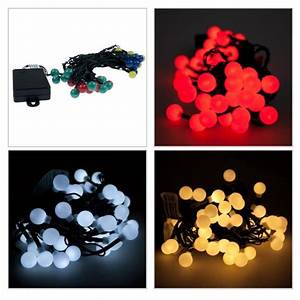 noma battery operated indoor outdoor multi effect berry With outdoor battery operated berry lights