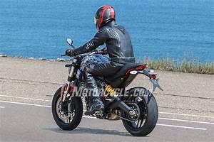 2017 Ducati Monster 800 Spy Shots