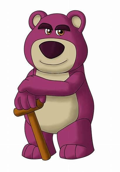 Toy Story Lots Bear Huggin Disney Villain