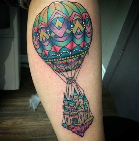 incredible hot air balloon tattoo designs tattooblend