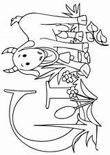 Ziege Ausmalbilder Kunne Telle Geitekillingen sketch template