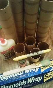 Paper Towel Roll Candles Craft Supplies