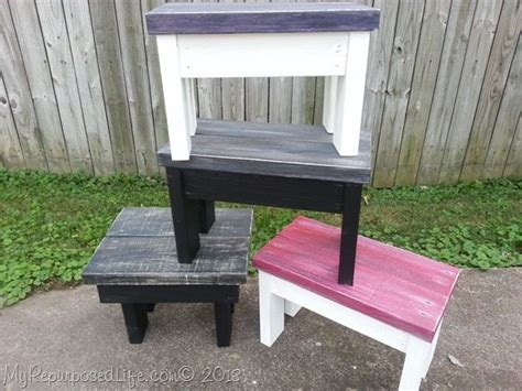 easy  benchstool tutorial  repurposed life