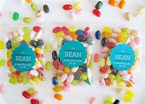 DIY Jelly Bean Wedding Favors - Gift & Favor Ideas from