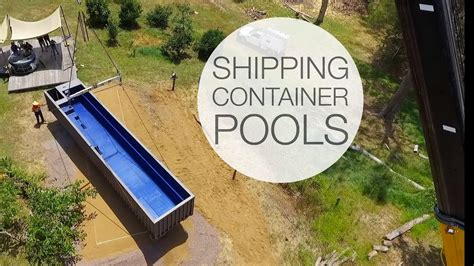 Container Pool Selber Bauen by Shipping Container Pools