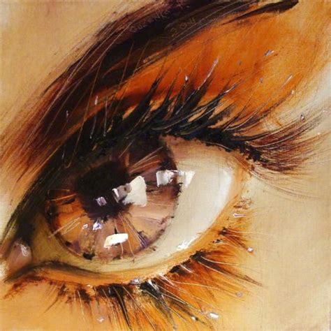 Spectacular Oil Paintings Twinkling Eyes