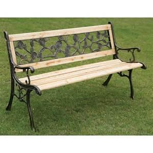 Replacement Slats For Garden Bench by Rose Detail Garden Bench Garden Amp Outdoor Furniture