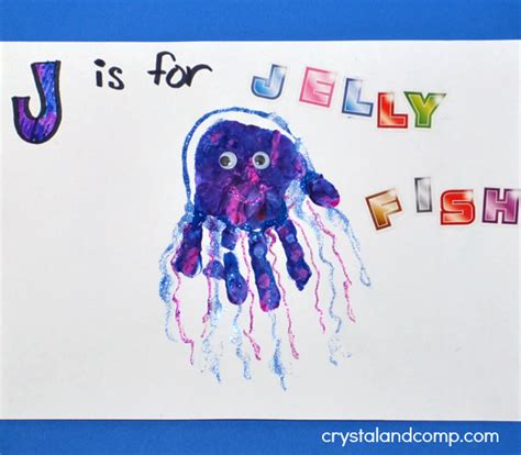 print j is for jellyfish crystalandcomp 356 | Hand Print Art J is for Jellyfish1