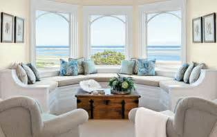 Beach Living Room Ideas by Living Room Bay Window Seat Ideas Home Intuitive