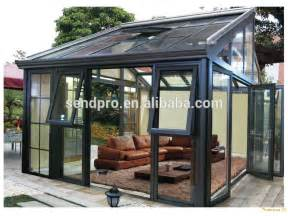 Curved Porch Roof by Europe Design Aluminum Frame Double Glass Lowes Sunroom