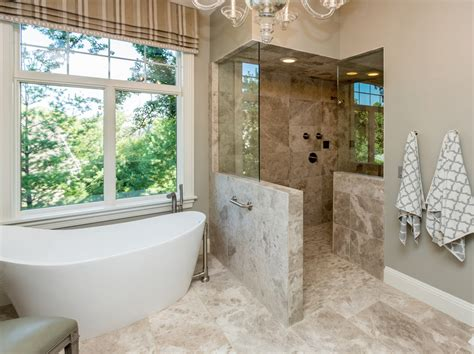 walk in bathroom shower ideas walk in shower ideas no door bathroom transitional with