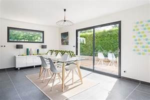 maison ossature bois natigreen contemporain facade With salon de jardin pour enfants 7 renovation cuisine contemporaine et douce dans maison